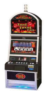 Triple Trouble Poker the  Slot Machine