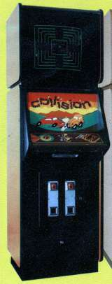 Collision [Upright model] the  Arcade Video Game