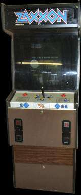Zaxxon [Model 834-0211] the  Arcade Video Game