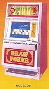 Draw Poker [Fortune I Series] [Model 701] the  Slot Machine