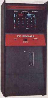 TV Pinball the Arcade Video Game PCB