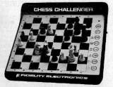 Sensory Chess Challenger 9 the  Tabletop Electronic Game