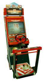 18 Wheeler - American Pro Trucker the Sega NAOMI cart.