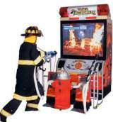 Brave Fire Fighters the Arcade Video Game