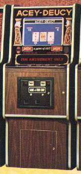 Acey-Deucy the  Arcade Video Game