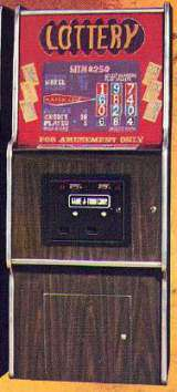 Lottery the  Arcade Video Game PCB