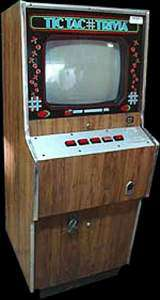 Tic Tac Trivia the  Arcade Video Game