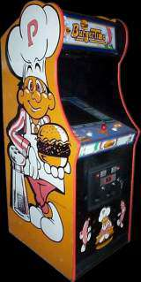 Burger Time the  Arcade Video Game