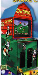 Cow Tipping the Arcade Video Game