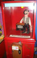 The Old Handorgan Grinder the  Working Model