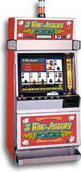 3 Way-Action Poker the  Slot Machine