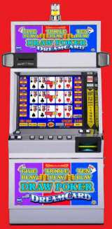 Five Play Triple Play Ten Play Draw Poker with DreamCard the  Slot Machine