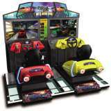 Street Racing Stars [Model MDX-2] the Arcade Video Game PCB