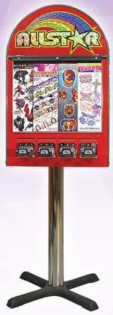 Allstar [4-Column Tattoo Sticker] [Traditional Stand] the  Vending Machine