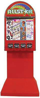 Allstar [4-Column Tattoo Sticker] [Pedestal Base] the  Vending Machine