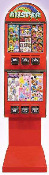Allstar [6-Column Tattoo Sticker] the Coin-op Vending Machine