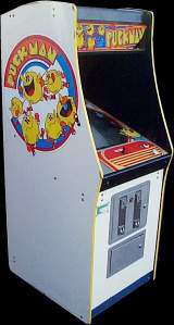 Puckman [Upright model] the Arcade Video game