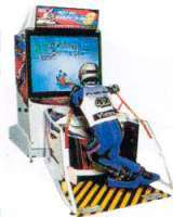 Sega Ski Super G the  Arcade Video Game