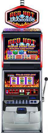 Red Hot Diamonds the  Slot Machine