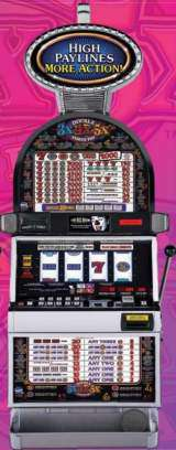 Double 3x4x5x Times Pay [4-Reel] the Slot Machine
