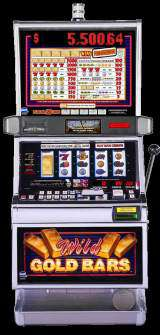Wild Gold Bars the  Slot Machine