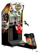 Harley-Davidson Motor Cycles - King of the Road the  Arcade PCB