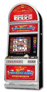 Triple Hand Kicker Bonus Draw - Double Double Quads Bonus the Slot Machine