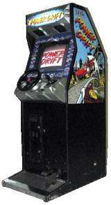 Power Drift [Upright model] the Arcade Video Game