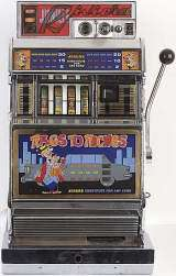 Rags to Riches the  Slot Machine
