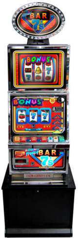 Bonus Frenzy Bar 7's - Gold Run the Slot Machine