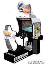 Initial D Arcade Stage the  Video Game PCB