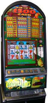 Eggstra Lines the Slot Machine