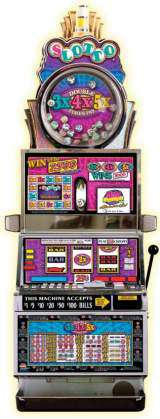 Double 3x4x5x Times Pay Slotto the  Slot Machine