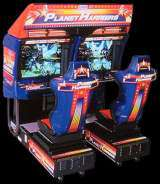 Planet Harriers the  Arcade Video Game