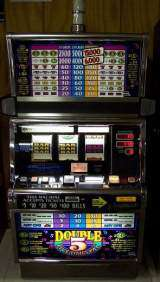 Double Five Times Pay [3-Coin Multiplier] the  Slot Machine