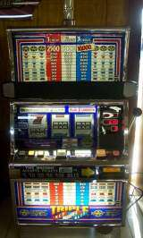 Triple Red White & Blue [3-Coin] the Slot Machine