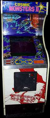 Cosmic Monsters 2 the Arcade Video Game PCB