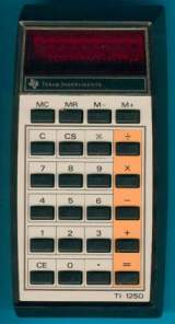 TI-1250 the  Calculator