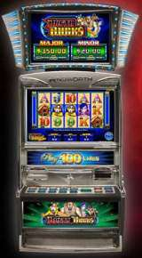 Busta Bucks [Play 50/100 Lines] [Game Plus] the  Slot Machine