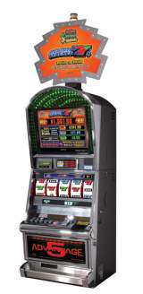 Action Stacked 7s the Slot Machine