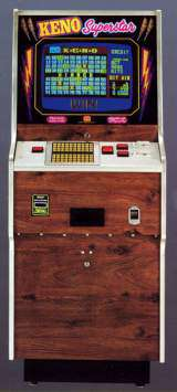 KENO Superstar the Arcade Video Game
