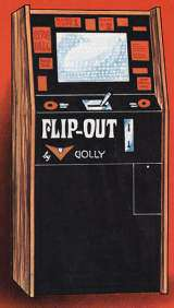 Flip-Out [Upright model] the Arcade Video Game