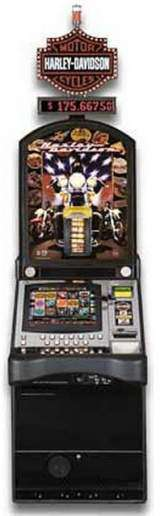Harley-Davidson Motor Cycles the  Slot Machine