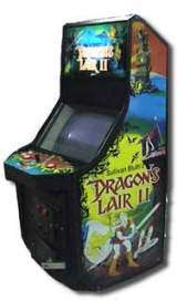 Dragon's Lair II - Time Warp the Arcade Video Game PCB