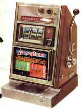 Arcadian [Chrome front] the  Slot Machine