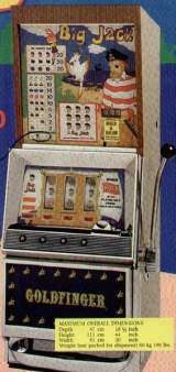 Goldfinger Big Jack [Model 838] the Slot Machine