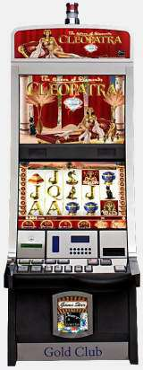 Cleopatra - The Queen of Diamonds the  Slot Machine
