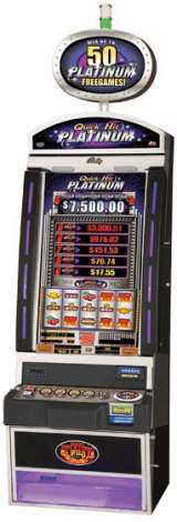 Triple Blazing 7's Jackpot [Quick Hit Platinum] the Slot Machine