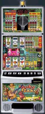 Moky Raky the  Slot Machine