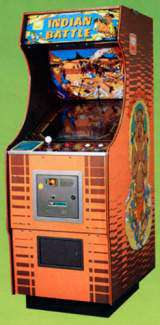 Indian Battle [Upright model] the Arcade Video Game